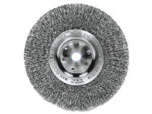 """Trulock Tln-6 Narrow-Face Crimped Wire Wheel, 6"""" Dia, .014 Wire"""