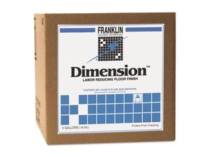 Franklin Cleaning Technology Dimension Labor Reducing Floor Finish 5gal Cube