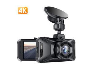 Vantrue X4 UHD 4K 3840X2160P 30fps Dash Cam, Super Capacitor Dash Camera 3 inches 160 Degree Wide Angle Car Camera with Night Vision, 24Hs Parking Mode, Motion Detection, Time Lapse, Support 256GB Max