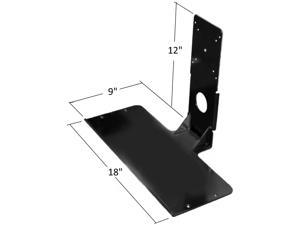 SDS iMount 2.0 Premium Aluminum Keyboard Mounting Bracket Uses 100 or 75 VESA On Monitors, Perfect for Tight Spaces, Doctors, Dentist, Government Offices, Military, Warehouses Anyplace, Save Money
