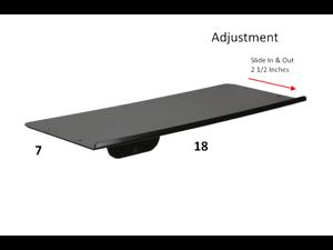 SDS iMount 1.0 Wall Mount Keyboard Tray 7x18