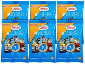 Thomas & Friends Minis Engines 6-Pack Blind Bags Gift Set Party Bundle Fisher-Price