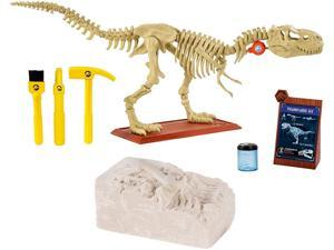 Jurassic World Playleontology Kit STEM T-Rex Bones Mattel FTF12