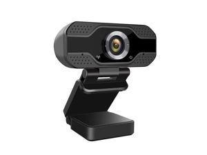 axGear USB Webcam 1080P HD Auto Focusing Web Cam with Microphone Mic