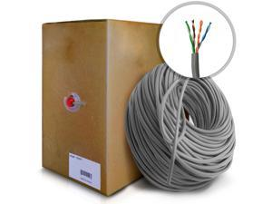 axGear Cat 5e Network Cable Ethernet Lan Wire RJ45 Cat5e UTP Patch Cable 1000Ft 300M