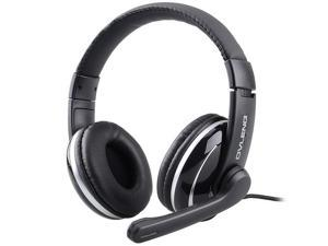 axGear Stereo Headset 3.5mm Audio Jack Gaming Headphone With Microphone for PC Computer Laptop
