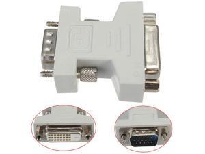 axGear VGA to DVI Adapter VGA Male to Female DVI-D Dual Link 24+1 M/F Converter