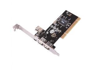 axGear Firewire PCI Card 4 Port IEEE 1394 PCI Controller Adapter 4 Pin 6 Pin