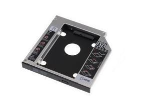 axGear Laptop Optical Bay Hard Drive Tray SATA HDD Caddy Notebook 2nd Hard Disk 9.5mm