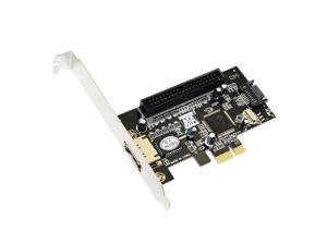 axGear SATA PCI-E PCI Express Controller Card SATA eSATA Internal External Adapter