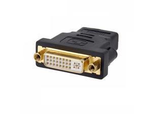 axGear HDMI Female to DVI Female Adapter HDMI to DVI-I Dula Link 24+5 F/F Converter