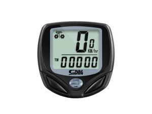 axGear Bike Speedometer Wireless Bicycle Odometer Cadence Waterproof w/ LCD Display