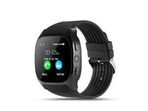 axGear Android Bluetooth Smart Watch Unlocked Cell Phone Camera For Android Black