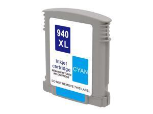 Hewlett Packard HP C4907AN HP 940XL 940 Cyan Compatible Printer Ink Cartridge OfficeJet 6500A Plus