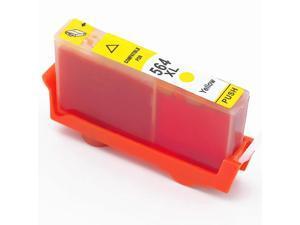 Hewlett Packard HP CB321WN HP 564XL 564 Yellow Compatible Printer Ink Cartridge C6383 C6388 D5400 D5445