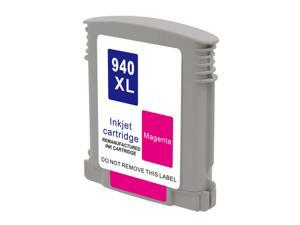 Hewlett Packard HP C4908AN HP 940XL 940 Magenta Compatible Printer Ink Cartridge OfficeJet Pro 6500