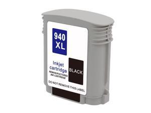 Hewlett Packard HP C4906AN HP 940XL 940 Black Compatible Printer Ink Cartridge OfficeJet 6500 6500A