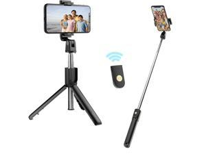 axGear Selfie Stick Tripod Stand with Bluetooth Wireless Remote Extendable Phone Holder