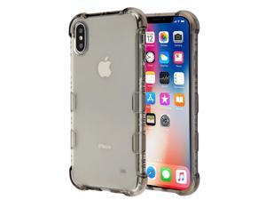 Insten Tuff Klarity Hard Plastic/Soft TPU Rubber Case Cover For Apple iPhone X/