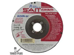 Sait 23065 4 x 3//8 x 1//16 Metal Cutting Wheel 50-Pack