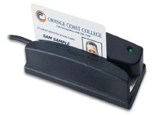 Omni Heavy Duty Slot Reader (Combo Bar Code-Mag Reader Usb Interface Infrared With Tracks 1 2 And 3) - Model#: wcr3237-733u