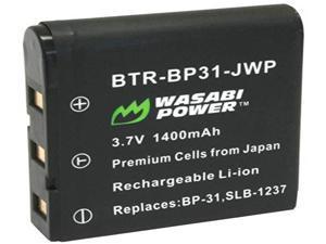 Wasabi Power Battery for Sigma BP-31 and Sigma DP1, DP1s, DP1x, DP2, DP2s, DP2x