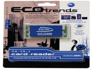 Sakar Eco Trends 50-in-1 Flash Memory Card Reader.