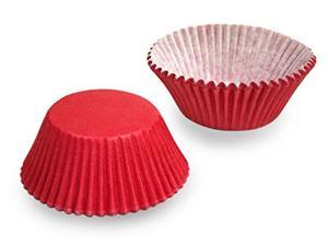 Red Cupcake Baking Cup Liners 32 Count by Cupcake Creations