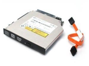 "Toshiba TS-L632 ATAPI IDE Slim 8x DVD?RW Optiplex 745 Optical Drive Burner Player, With Slimline IDE To SATA Converter YG554 With Tray GJ217 and Free SATA 7.25""-Inch SATA Cable HH942, For Mini-IDE Opt"