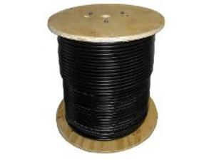 Solar Cable PV Wire, 10AWG, UL4703 , 600VDC, Black, 1000' spool