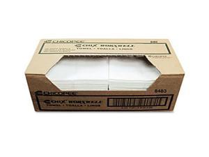 Chix Multipurpose Towel Cloth 13 x 15 White 300/Carton 8483