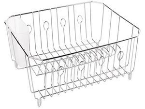 Rubbermaid Home 6032-AM-CHROM Large Dish Drainer-CHROME DISH DRAINER