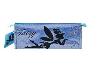 Licensed Disney Fairy Foil Cosmetic Bag with Hangtag