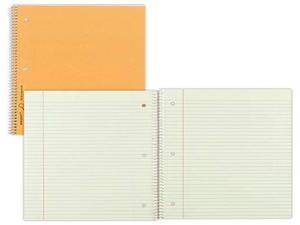 "Rediform Notebook 1 Sub 80 Shts College/Margin 11""x8-7/8"" Brown 33068"
