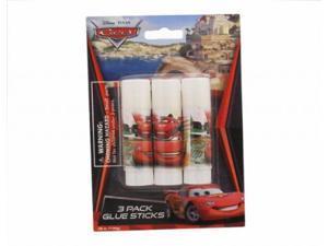 Licensed Disney Cars 3pk Glue Stick