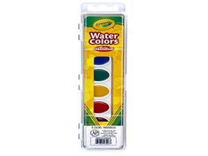 Artista II 8-Color Watercolor Set, 8 Assorted Colors 53-1508