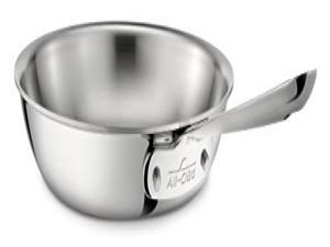 All-Clad 4110 10-Inch Stainless Steel Tri-Ply Fry Pan, Silver