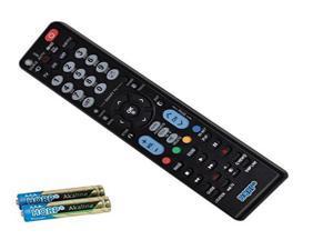 "hqrp remote control for lg 55ub9500 65ub9500 65ef9800 77eg9900 ub9500 ef9800 eg9900 55"" 65"" 77"" lcd led hd tv smart 1080p 3d ul"