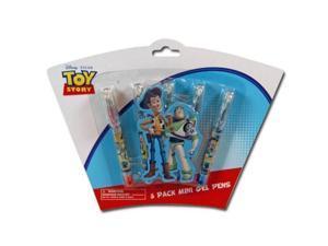 5pk Toy Story 3 Mini Gel Pens on Shaped 3D Blister Card