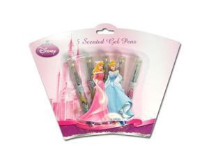 Disney Princess 5pk Mini Gel Pens on Shaped 3D Blister Card