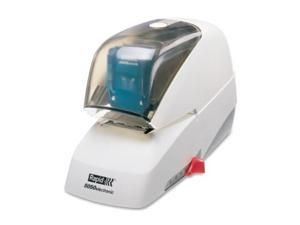 Rapid 5050e Professional Electric Stapler - Electric Stapler - 60 Sheets Capacity - 5000 Staples Capacity - White