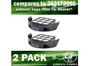 Hoover WindTunnel T-Series Style 65 Replacement Belts 2 Pack
