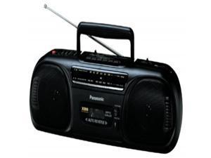 Panasonic RX-FS470 Portable AM / FM Radio and Cassette Boombox