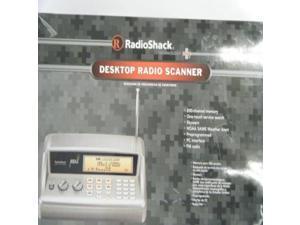 RadioShack® PRO-405 200-Channel Desktop Radio Scanner