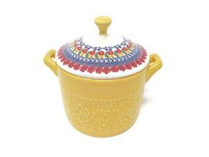 Pioneer Woman Mini Casserole with Lid (14.4 of, Yellow)