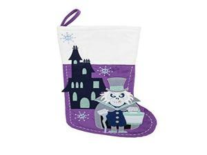 Disney Parks Haunted Mansion Ghost Purple Holiday Christmas Stocking
