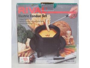 Rival Electric Fondue Pot Set Model 5250 2 Quart