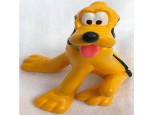 "2.5"" Disney Mickey Mouse Dog Pluto Pvc Figure Doll Toy, Cake Topper"