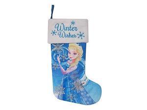 "Disney Frozen Elsa 18"" Christmas Stocking with LED Lights"