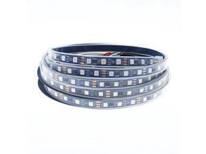 Aclorol WS2811 Addressable LED Strip Light 5050 RGB 16FT 300 SMD (100 Pixels) Dream Color Waterproof IP67 Black PCB 12V DC